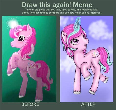 Memes My Little Pony - draw again meme my little pony by koalamorv on deviantart