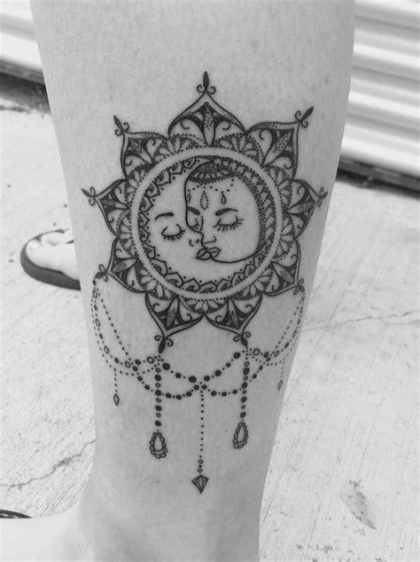 76 moon tattoos designs mens craze