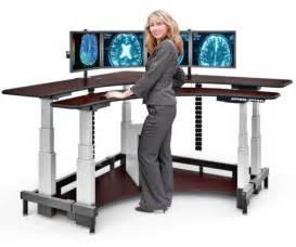 Adjustable Height Standing Computer Desk Corner Standing Computer Desk Afcindustries