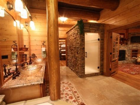 Dreaming Of Going To The Bathroom by Magnificent Custom Log Home Home Design Garden