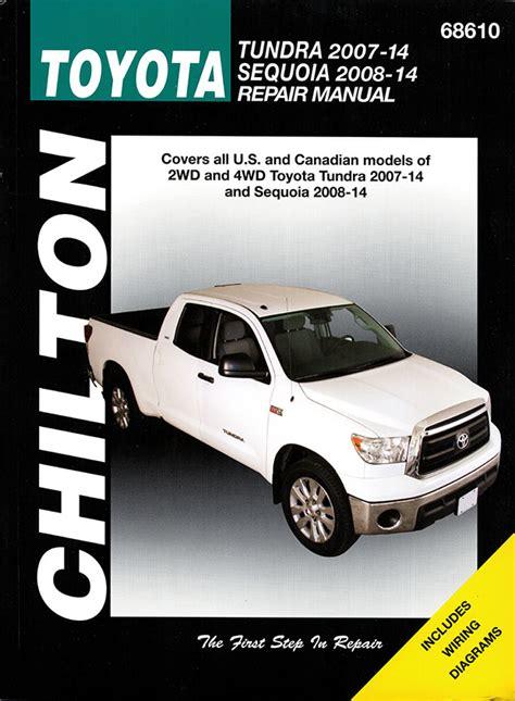 best auto repair manual 2007 toyota tundra windshield wipe control toyota tundra and sequoia chilton repair manual 2007 2014
