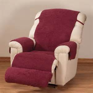 Covers For Recliners Sherpa Fleece Recliner Cover By Oak Ridge Comforts Ebay