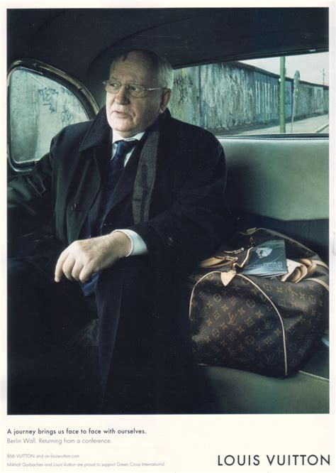 The Mikhail Gorbachev And Louis Vuitton by Critical Section Gorbachev And Louis Vuitton