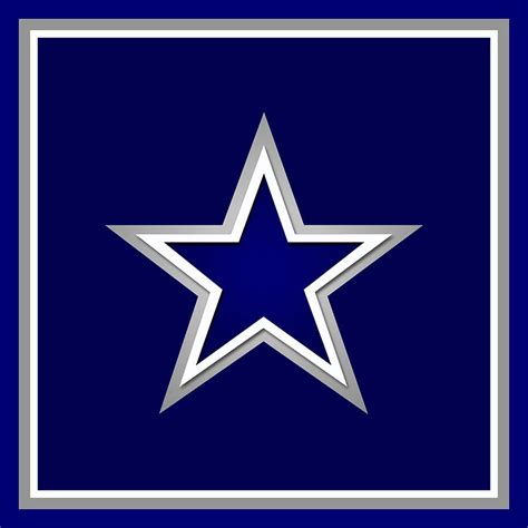 Nfl Home Decor by Dallas Cowboys Painting By Tony Rubino