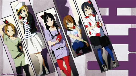 wallpaper hd anime k on k on wallpaper and background image 1366x768 id 392629