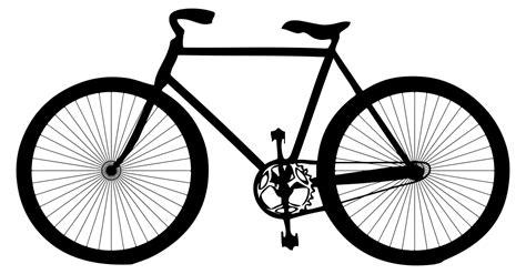 imagenes de bicicletas a blanco y negro onlinelabels clip art bicycle silhouette