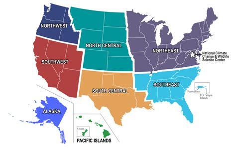 Interior Region by Csc Regions U S Department Of The Interior