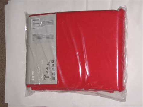 red curtains ikea ikea ritva red curtains drapes heavy cotton 98 quot