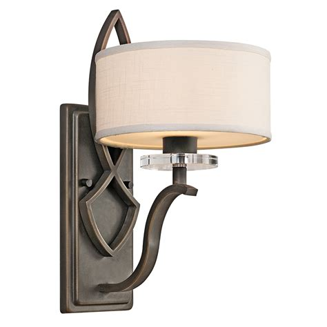 Kichler Sconce kichler 45178oz leighton wall sconce