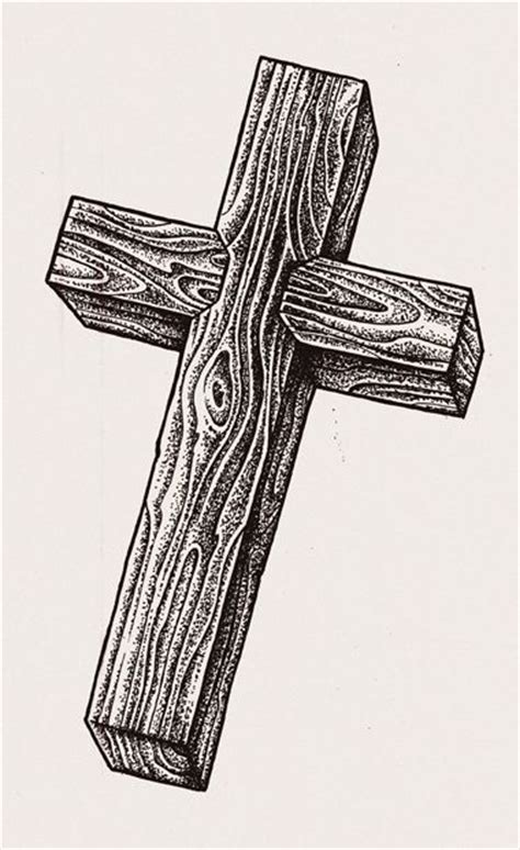 wood grain cross tattoos image result for wooden cross drawing tattoos