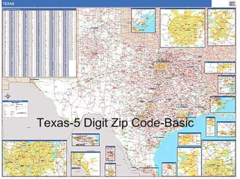 zipcode map texas texas zip code map from onlyglobes