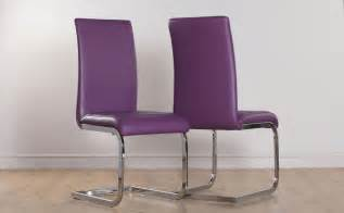 Purple Dining Room Chairs by 2 4 6 8 Perth Purple Leather Dining Room Chairs