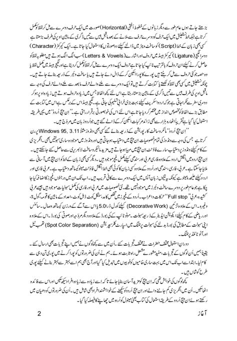 Divorce Letter To In Urdu Inpage Urdu Tutorial