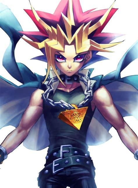 Yu Gi Oh Millenium Black tags anime yu gi oh millennium puzzle chain yami