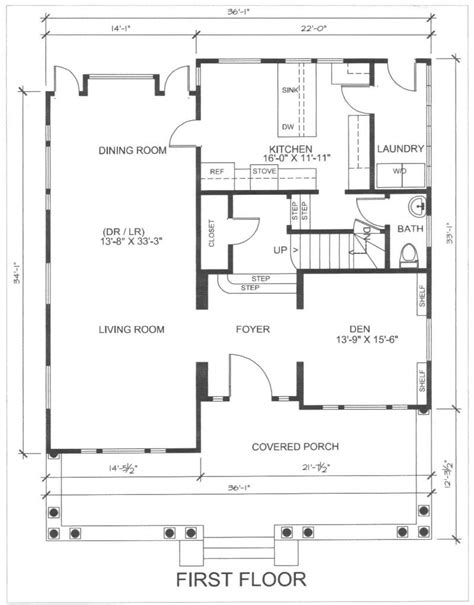 small residential building plan