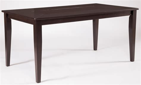 Trishelle Dining Table Trishelle Rectangular Dining Room Table From D550 25 Coleman Furniture