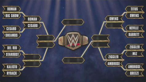 match cards tag team template updated world heavyweight title tournament bracket
