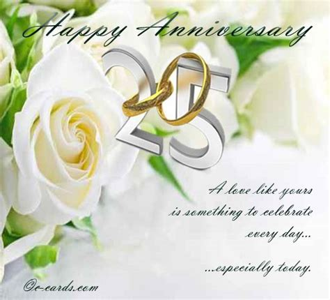 free card verses for 25th wedding anniversary silver wedding anniversary wedding anniversary