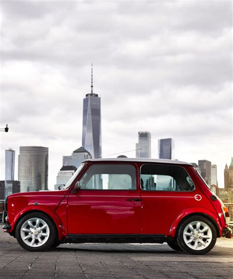 auto design nyc instagram classic mini electric debuts at new york international