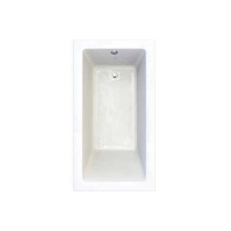 shop american standard studio arctic acrylic bathtub wall faucet com 2939 102 011 in arctic by american standard