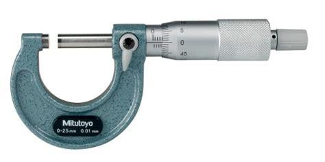 Mitutoyo 103 137 Micrometer mitutoyo 103 137 0 25mm ext micrometer 01mm std ratchet