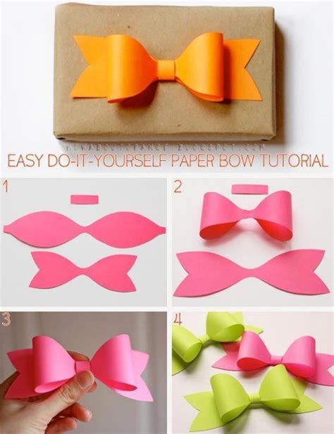 diy paper bow diy crafts craft ideas diy ideas diy crafts crafty easy diy easy craft diy bow