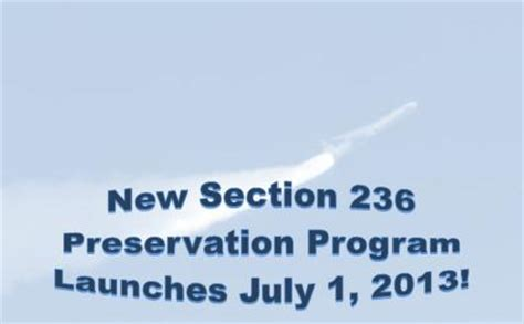 section 236 program preservation