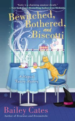 libro year of cozy the bewitched bothered and biscotti magical bakery series 2 by bailey cates 9781101607381