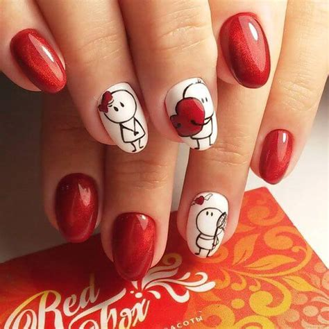 imagenes de uñas decoradas de amor y amistad 200 dise 209 os de u 209 as decoradas 2018 u 209 as decoradas