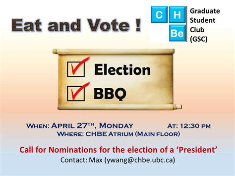 chbe graduate students council where chbe ubc events chbe graduate students council where chbe ubc events
