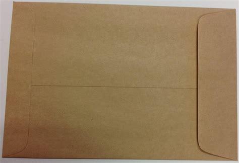 craft paper envelope a7 brown recycled envelopes crafts