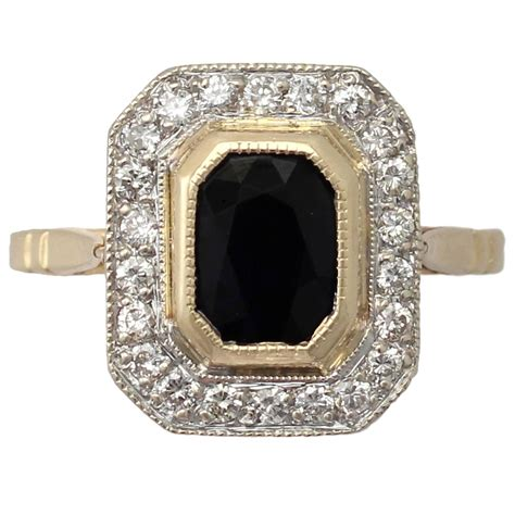 Yellow Saphire Golden 9 55ct 1 55ct sapphire and 0 72ct 18k yellow gold