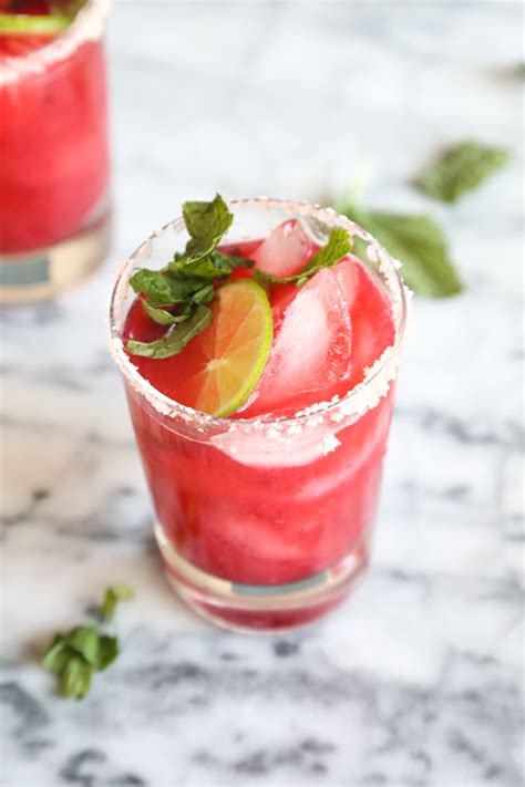 raspberry lime rickey slushies recipe myrecipes recipe for raspberry margaritas on the rocks besto