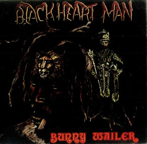 Bunny Record Bunny Wailer Blackheart Test Pressing Uk Vinyl Lp