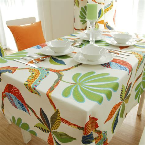 wholesale active 100 cotton canvas table cloth white linen