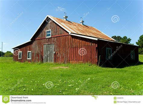 red barn plans old red barn royalty free stock image image 3259376