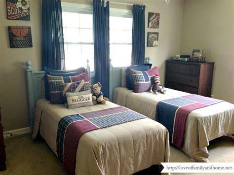 bedroom for 2 boys boys shared bedroom progress love of family home