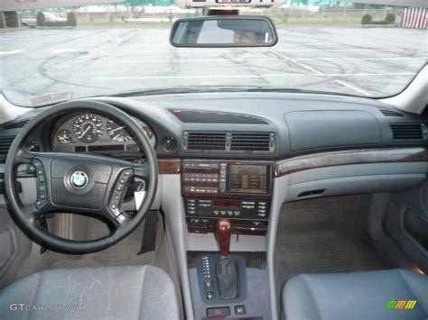 grey interior 2000 bmw 7 series 740il sedan photo