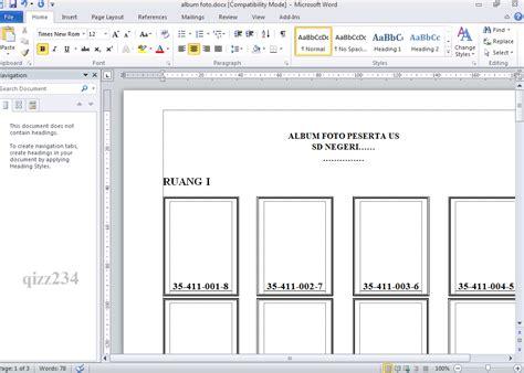 format daftar hadir pengawas 16 format kop sekolah untuk lop besar