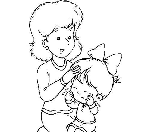 imagenes para pintar embarazadas dibujo de madre para colorear dibujos net