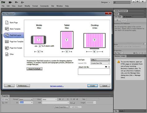 layout view in dreamweaver cs6 adobe dreamweaver cs6 developer programming