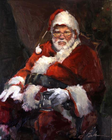 painting santa claus items similar to santa claus painting santa 16 quot x 20
