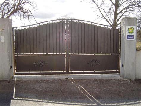 Portail De Maison En Fer by Fabriquer Portail Fer Portail 4m50 Battant Maison Infos