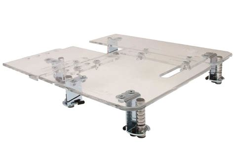 adjustable sewing table sew adjustable compact 16 16 inch x 16 inch universal