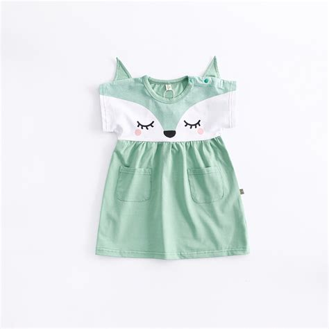 Baby Victory Printed victory check out my new lovely fox printed baby dress in green snagged at a