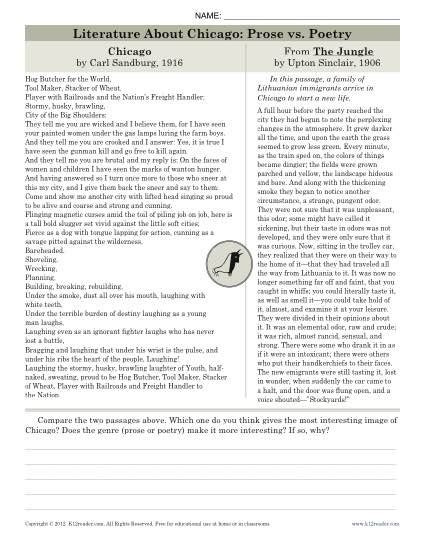 The Jungle By Upton Sinclair Worksheet Answers