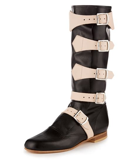pirate shoes vivienne westwood pirate boot black v120391 163 123