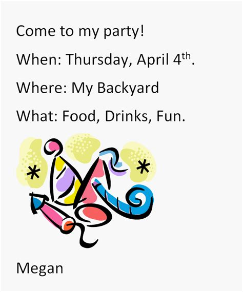 Invitation Letter Lesson Plan grade writing lesson invitation picture to pin