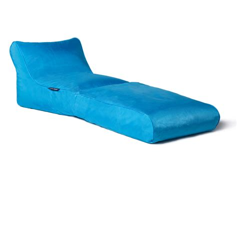 bean bag lounger nz outdoor bean bags studio lounger aquamarine bean