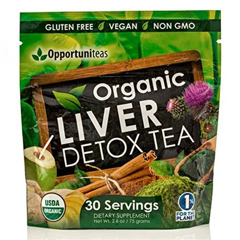 Detox Shi by Organic Liver Detox Tea Feel Great Boost Your Energy